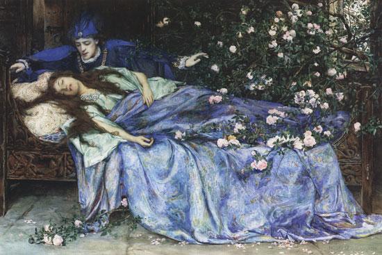 """Von <a href=""""https://en.wikipedia.org/wiki/de:Henry_Meynell_Rheam"""" class=""""extiw"""" title=""""w:de:Henry Meynell Rheam""""><span title=""""englischer Maler des Spätimpressionismus und Präraffaelismus"""">Henry Meynell Rheam</span></a> - Ursprung unbekannt, Gemeinfrei, Link"""